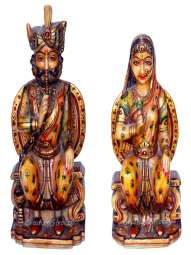 CS 1006 Marble Rajasthani Figurines